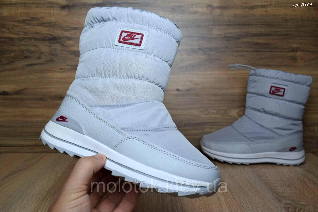 65e84d75 Зимние Nike сапоги (серые) Топ Реплика - MOLOTOK – магазин одежды,обуви и