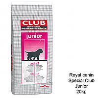 Royal Canin SPECIAL CLUB Performance JUNIOR 20кг корм для щенков крупных и гигантских пород