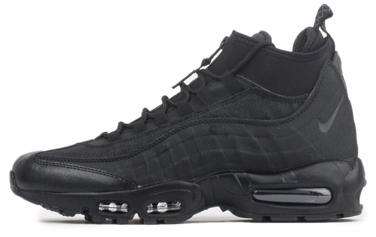 267c0f0d Кроссовки Nike Air Max 95 мужские высокие, цвет черный: продажа ...