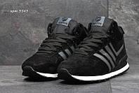Чоловічі зимові  кросівки  Adidas Neo (3543) чорні