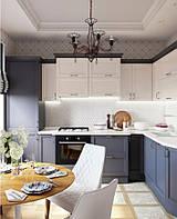 Кухня на заказ BLUM-059 краска по RAL каталогу, фото 1