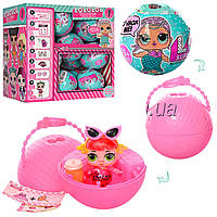 Кукла сюрприз в шарике LOL 9002: размер шарика 10см (микс видов)