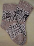 Жіночі шкарпетки із козячого пуху.