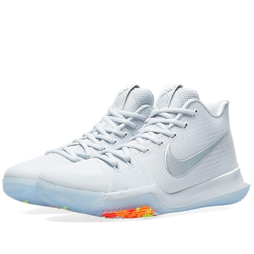 d4a8a1605900 Оригинальные кроссовки Nike Kyrie 3  Time to Shine  Pure Platinum - Sport -Sneakers