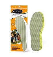 Ароматизированные стельки для обуви Latex Aromat Corbby, фото 1
