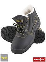 Ботинки зимние рабочие с металлическим подноском REIS (утепленные) BRYES-TO-SB (Польша) спецобувь