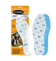 Стельки ароматизированные для обуви PROTECT Corbby