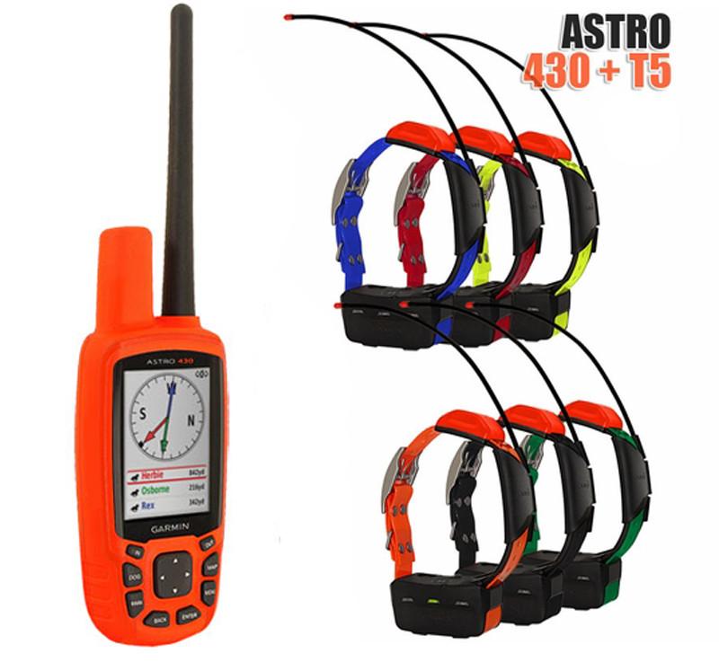 Garmin Astro 430 + 6 ошейников Garmin T5/T5 mini. Навигатор для охоты
