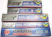 Электроды сварочные (5 кг) АНО -36 d-4мм (ПАТОН)