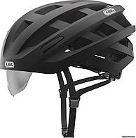 Шлем ABUS In-Vizz Ascent velvet black, 54-58 см (M), черный