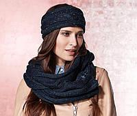 Вязаный шарф – хомут снуд 185х30 см от ТСМ Tchibo Германия
