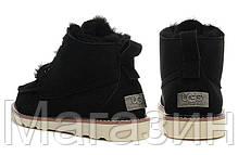 Мужские угги UGG Australia David Beckham Black ботинки угги Девид Бекхем черные, фото 3