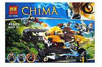Конструктор Bela серия Chima 10056 Королевский истребитель Лавала (аналог Lego Legends of Chima 70005)