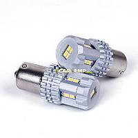 Светодиодные лампочки дневного света (лампы диодные белого света) Описание Carlamp 5G-Series P21W 5K21/1156