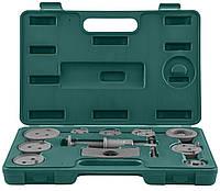Комплект инструмента для возврата поршней тормозных цилиндров дисковых тормозов 11 предметов JONNESW