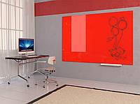 Доска цветная стеклянная магнитная маркерная 45*60 см