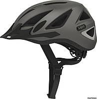 Шлем ABUS Urban-I v.2 asphalt grey, 52-57 см (M), серый