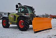 Отвал для снега на телескопический погрузчик Claas, Case, Manitou, Merlo, Haulotte, Bobcat, Magni.