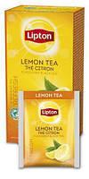 """Чай чёрный с лимоном ТМ """"Lipton"""" 25 пакетиков, фото 2"""