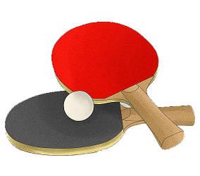 Ракетки и мячики для настольного тенниса, наборы