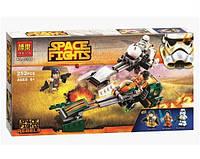 Конструктор Bela серия Space Fights 10369 Спидербайк Эзры (аналог Lego Star Wars 75090)