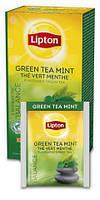 """Чай зелёный с мятой ТМ """"Lipton"""" 25 пакетиков, фото 2"""