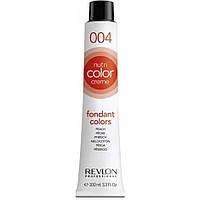 Revlon Professional Nutri Color Creme Экспресс тонирующий бальзам с блеском для волос 004-Персик