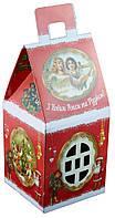 Сладкий новогодний подарок из конфет, Ретро люкс, вес 300 гр
