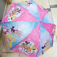 Зонт детский складной Динь-Динь Винкс