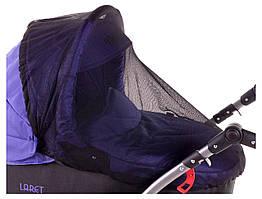 Москитная сетка для коляски Qvatro Moskquitoff 03 универсальная черная