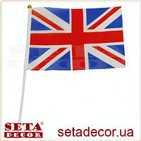 "Флаг английский ""UK Style"" (Union Jack) 15х21 см"