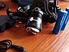 Фонарь налобный Bailong Police BL T 8055 T6 аккумуляторный с зумом zoom, фото 6