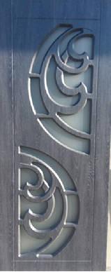 Двери межкомнатные Прибой со стеклом пленка ПВХ