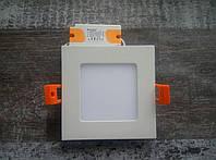 Светильник LED Downlight квадратный 4Вт, Quadro -4, Electrum, фото 1