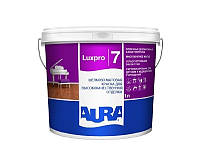 Краска  латексная AURA LUX PRO 7 интерьерная белая-база А 1л
