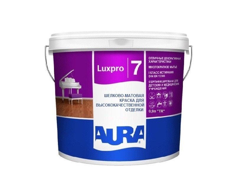 Фарба латексна AURA LUX PRO 7 інтер'єрна транспарентна-база TR 0,9 л