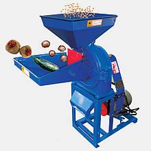 Кормоізмельчітель ДТЗ КР-23(зерно + качани кукурудзи + крупні овочі + фрукти, 450 кг/год) 3кВт