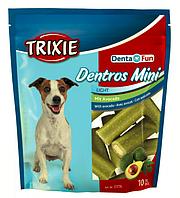 TRIXIE (Трикси) Denta Fun Dentros Mini 10шт/140гр - лакомство для собак с авокадо