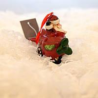 LV 183224 новогодняя игрушка «Дед Мороз на самолёте»