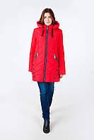 Зимняя куртка модель 17-50, красный (52-60) 2 цвета