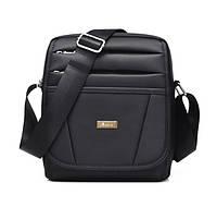 Мужская сумка-клатч на каждый день. Черная