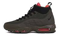 "Зимние мужские кроссовки Nike Air Max 95 Sneakerboot ""Dark Loden"""
