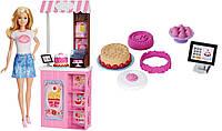 """Набір лялька Барбі Блондинка серія """"Ким Бути?"""" Модне кафе Barbie, фото 1"""