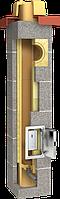Керамическая одноходовая дымоходная система PLEWA UNI FU (глазурованная), фото 1