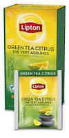 """Чай зелёный с цитрусом ТМ """"Lipton"""" 25 пакетиков, фото 2"""