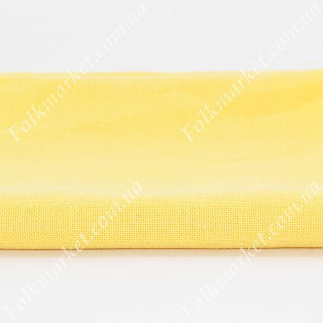 Желтая платьевая ткань Оникс ТПК-190 2/39
