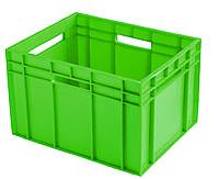 Пластиковые ящики для молока 433х347х283