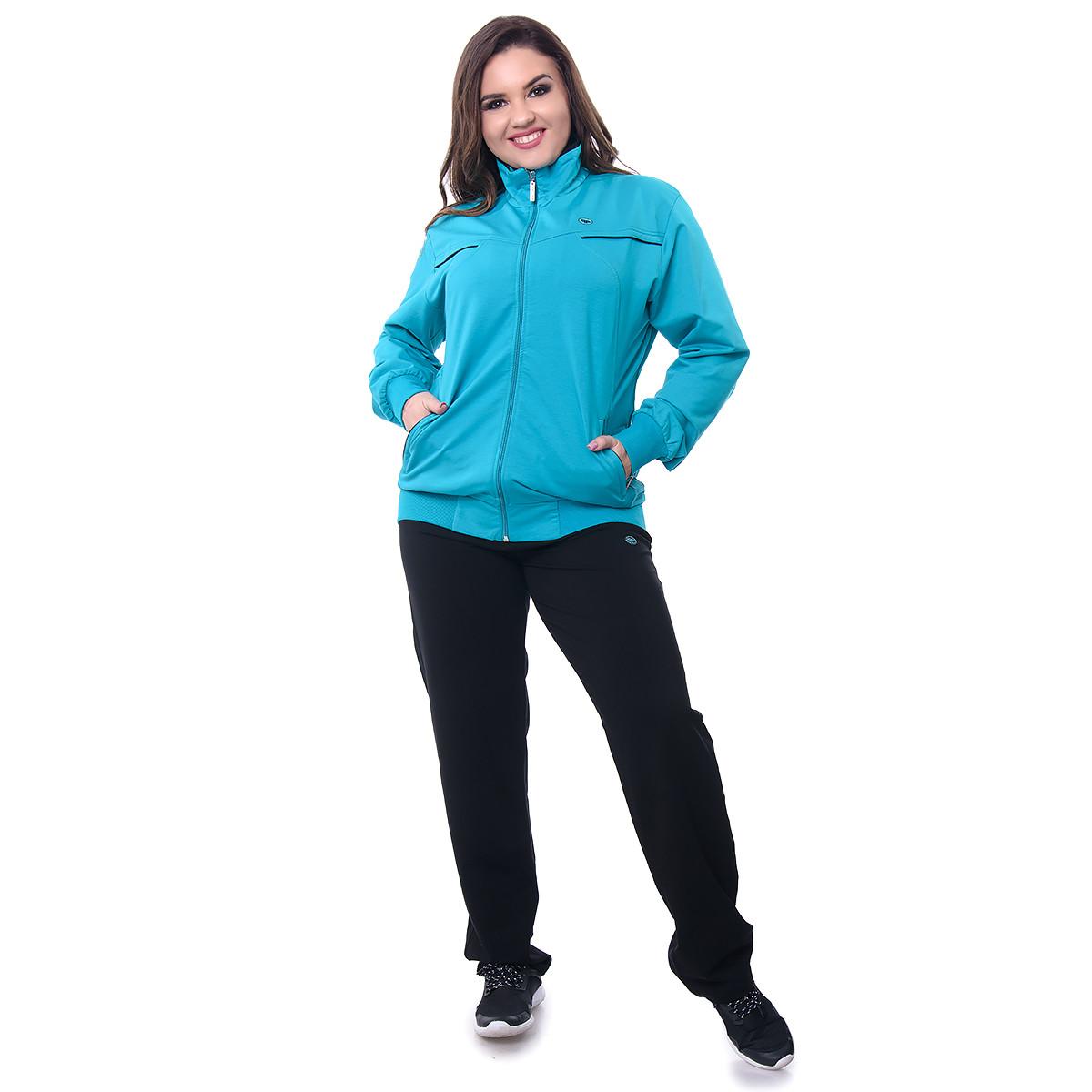 ae6cd2ad Спортивные костюмы женские больших размеров 7306G-4 оптом и в ...