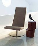 Современное вращающееся кресло без подлокотников Fender фабрики Alberta (Италия), фото 2