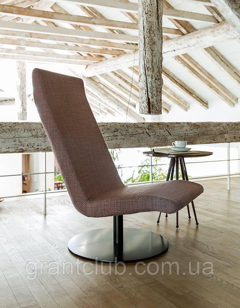 Современное вращающееся кресло без подлокотников Fender фабрики Alberta (Италия)
